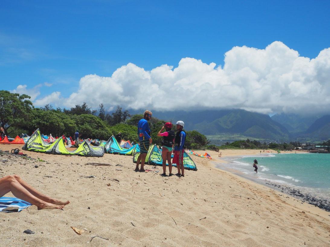 Kitesurfer auf Maui