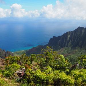 Wunderschöne Landschaft auf Kauai