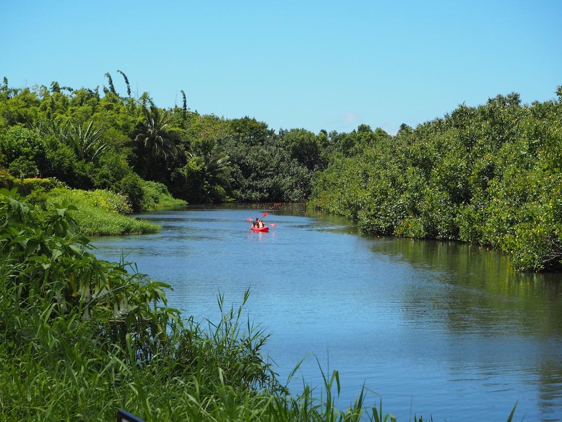 Kajak an der Nordküste Kauai