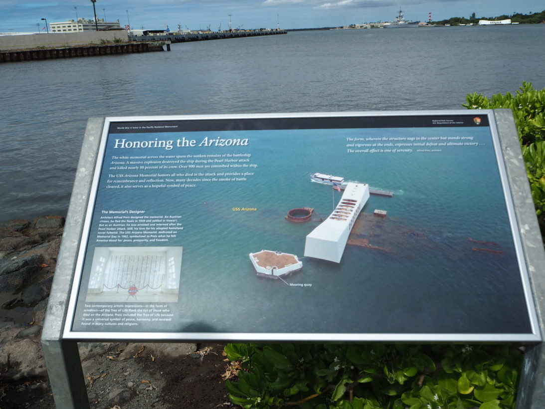USS Arizona Denkmal Pearl Harbor
