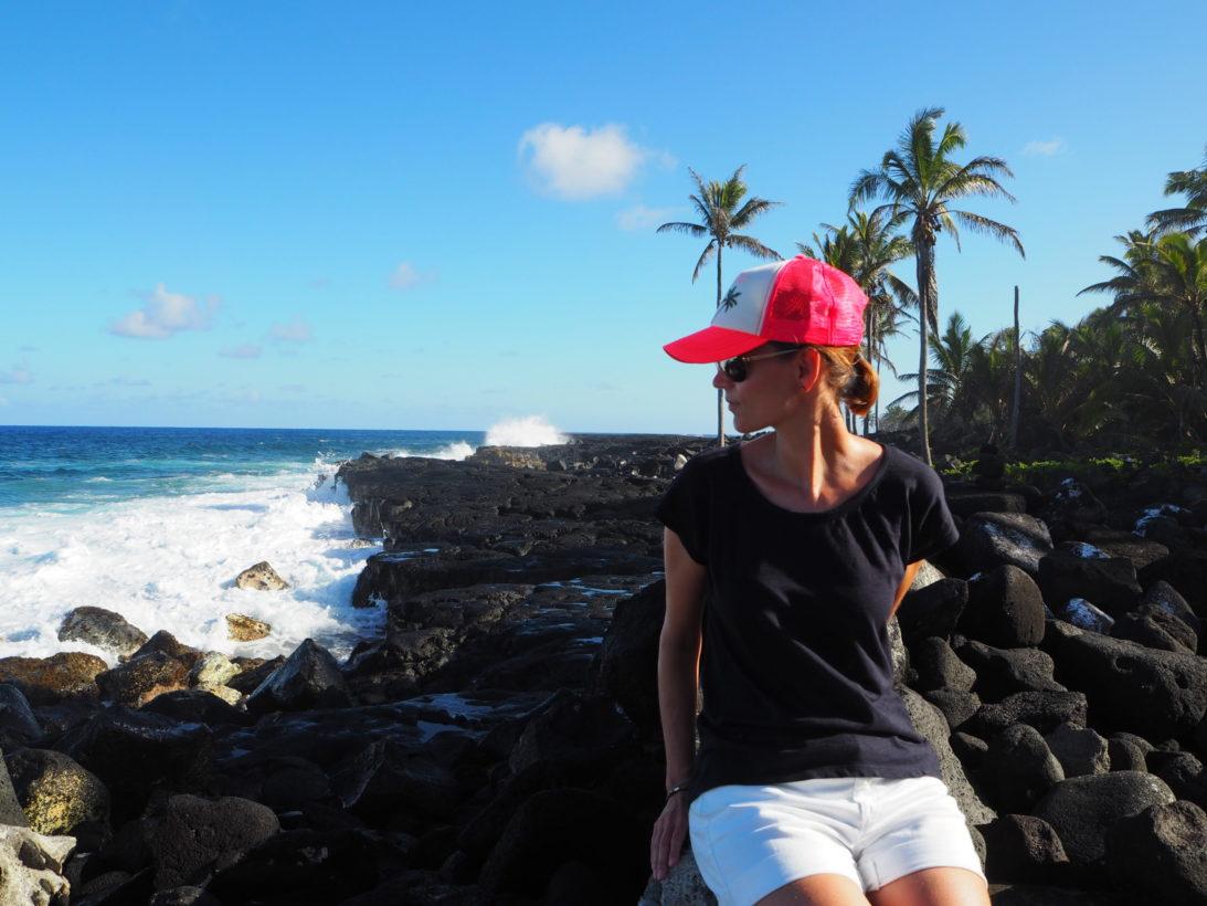 Erkaltete Lava auf Big Island