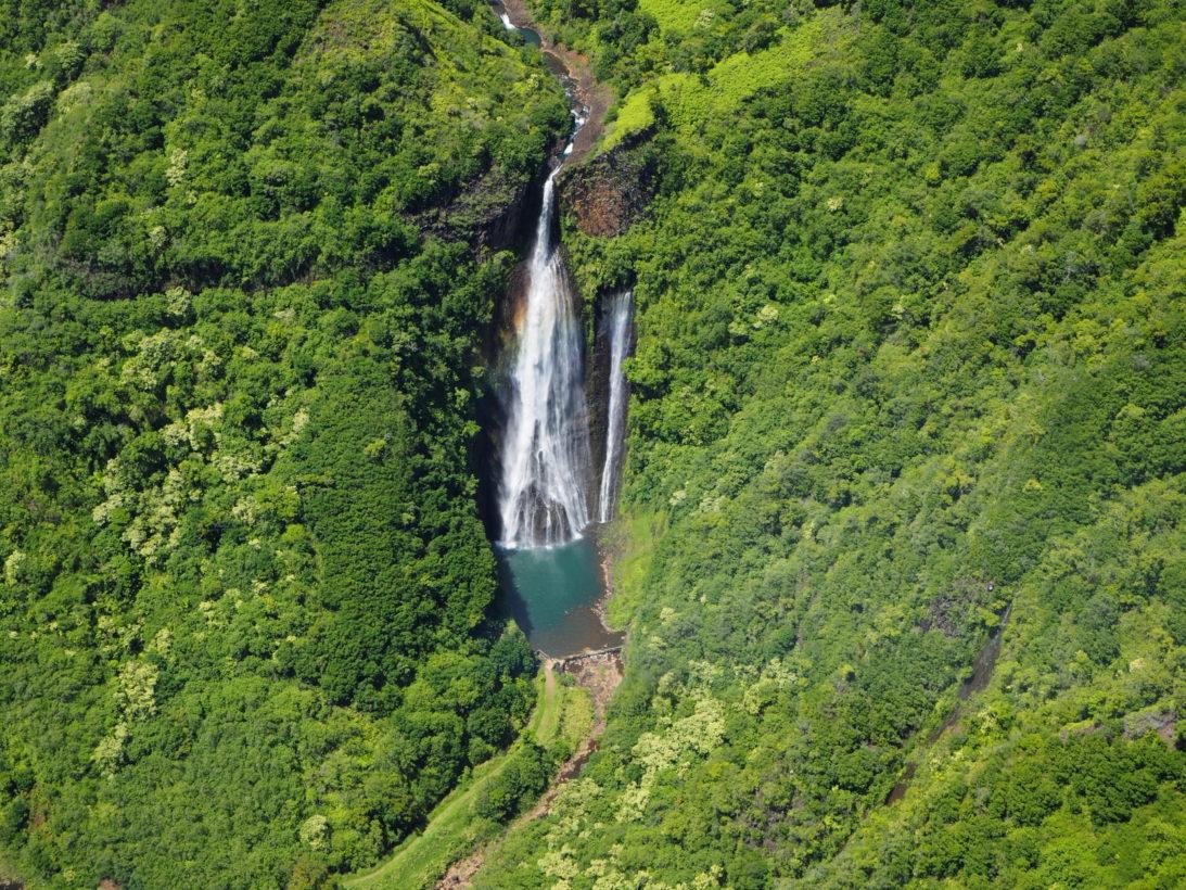 """Der Wasserfall aus """"Jurassic Parc"""""""