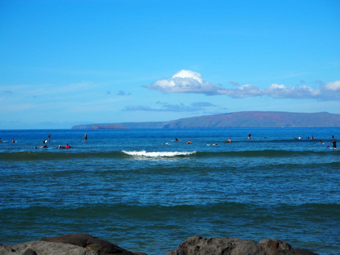 Surfkurs auf Maui