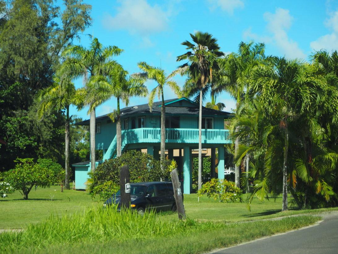Typisches Haus an der Nordküste