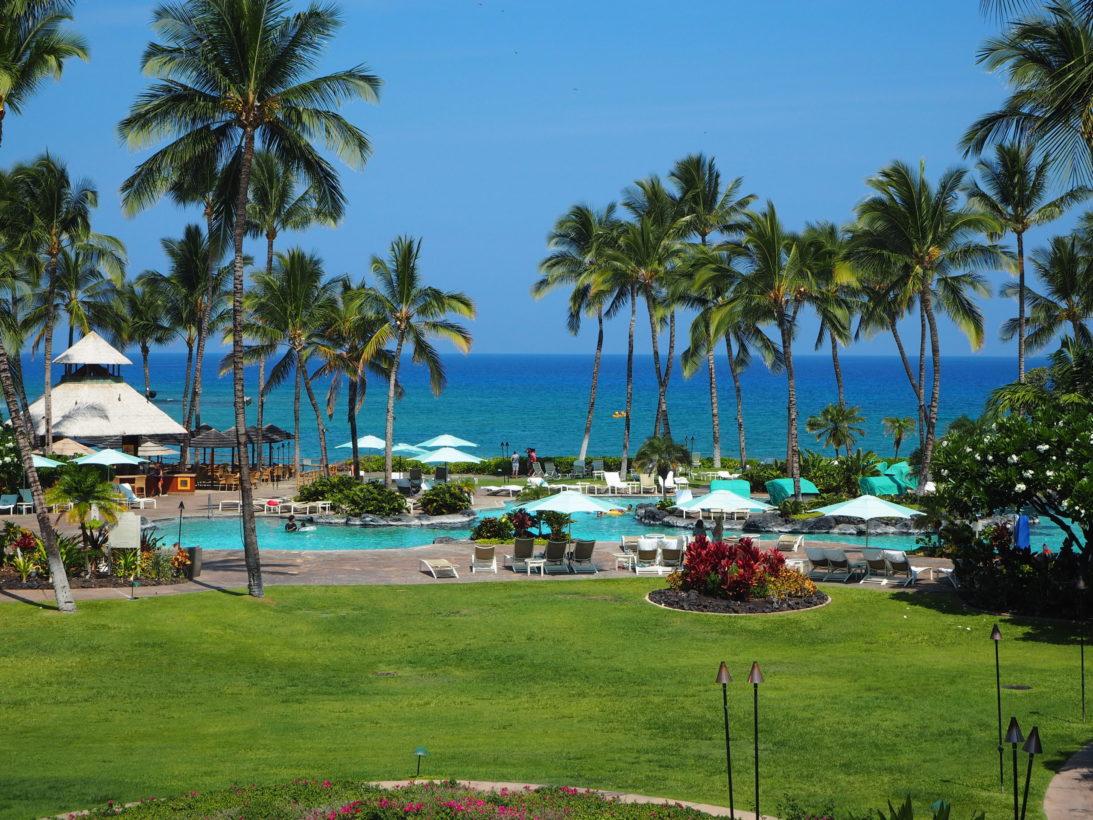 Unser Hotel im Westen der Insel