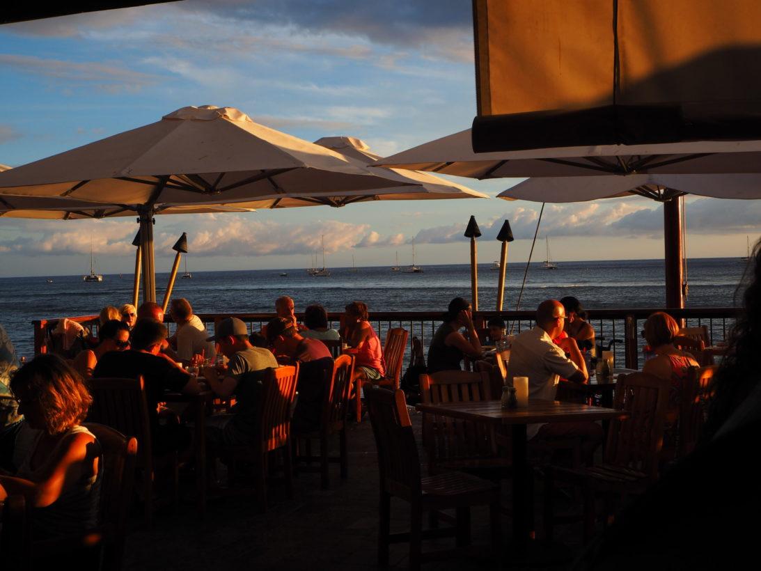 Schöne Abendstimmung in Lahaina