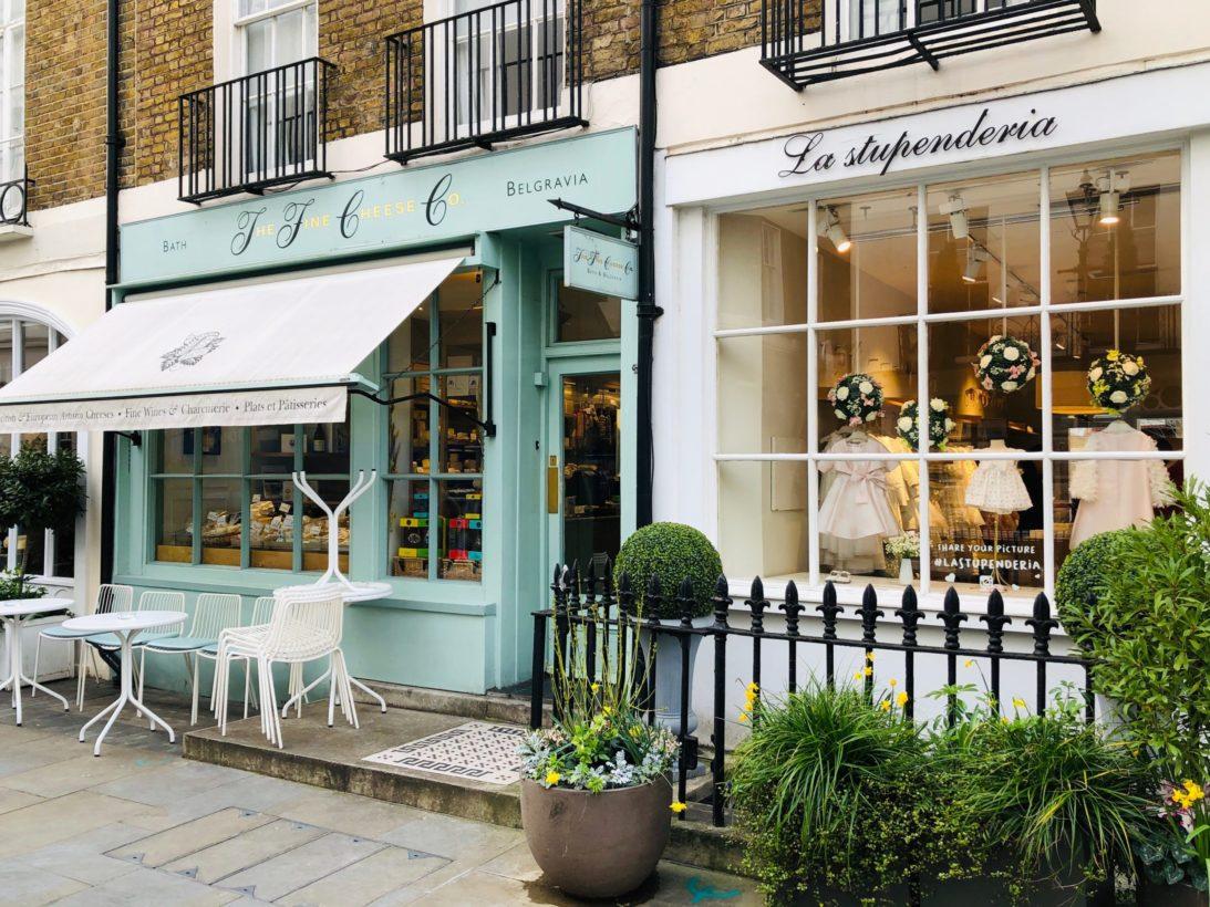 London Motcomb Street