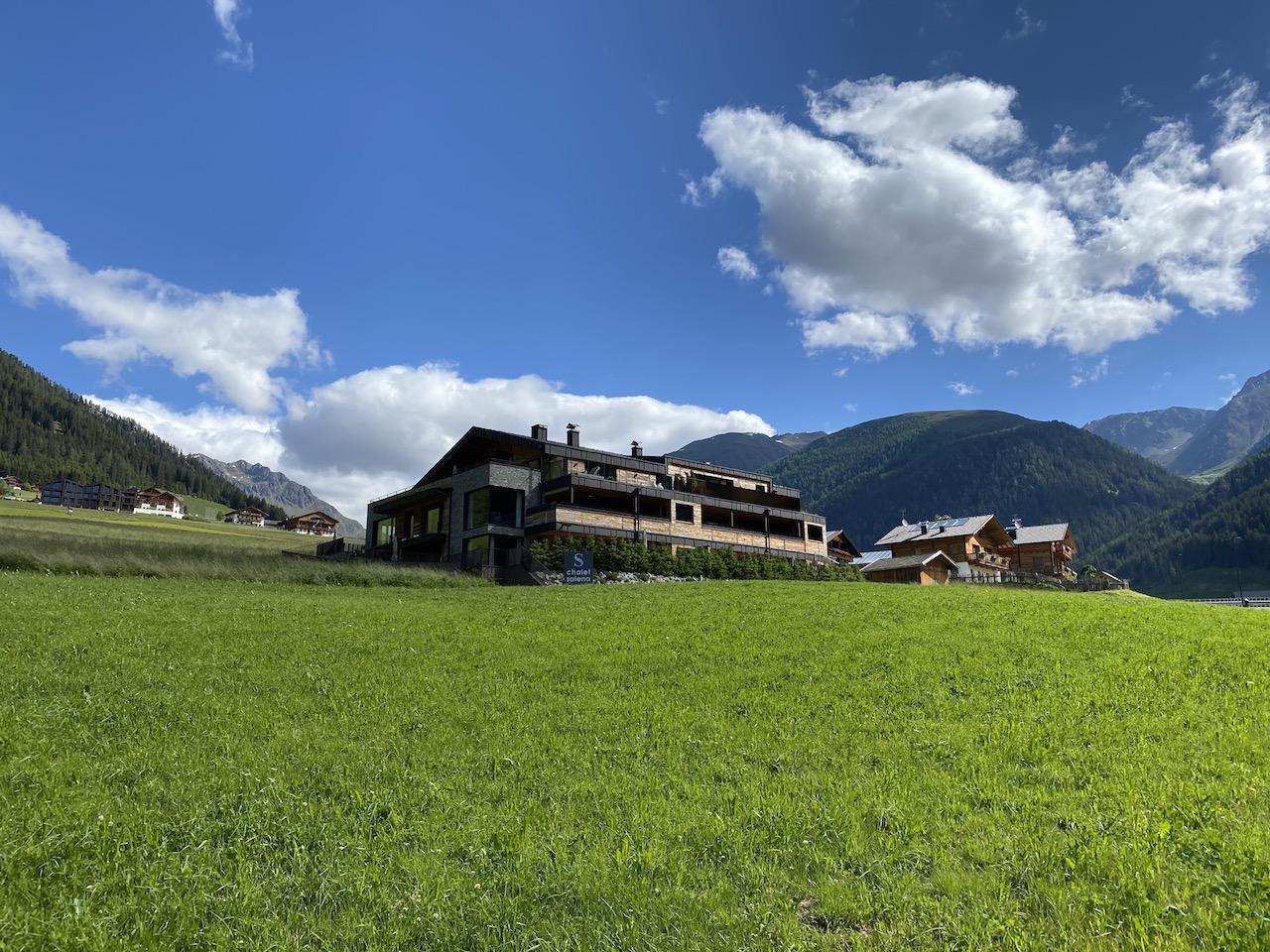 Familienurlaub im Luxus Chalet in Südtirol